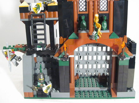 how to build a lego jail set