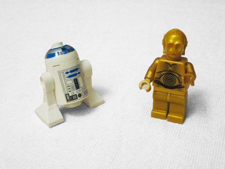 Lego C-3PO & R2-D2