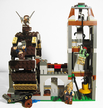 Back of Lego 4183 The Mill