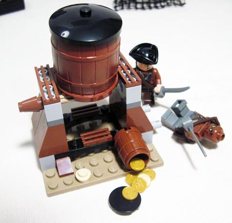 Lego Whitecap Bay Barell Spill
