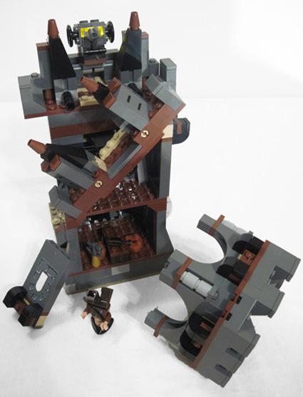 Lego Whitecap Bay comes apart