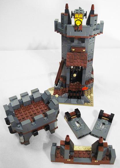 Lego Whitecap Bay Lighthouse Pieces