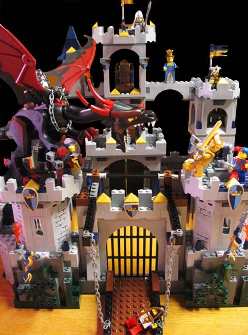 Lego 7094 King's Castle Siege Dragon Attack