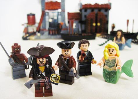 Lego Whitecap Bay Minifigs