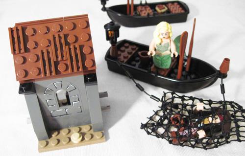 Lego Whitecap Bay Shack Front