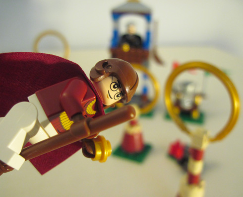 harry potter legos flyin