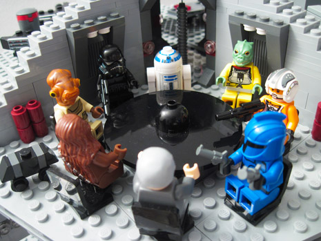 Lego Star Wars Board Meeting