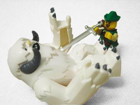 Lego Wampa and Bandit
