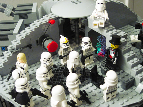 A Magician on the Lego Death Star