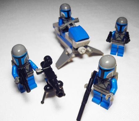 clone trooper battle pack instructions