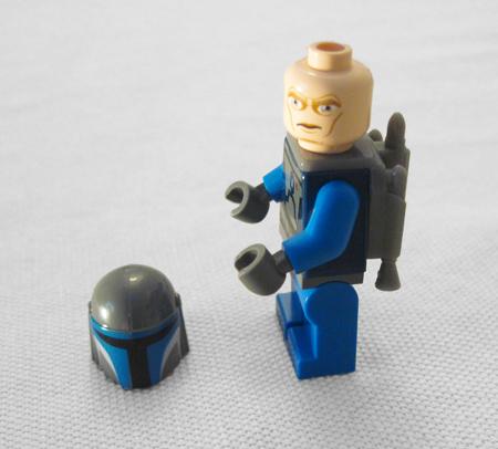 Lego Mandalorian Without Helmet