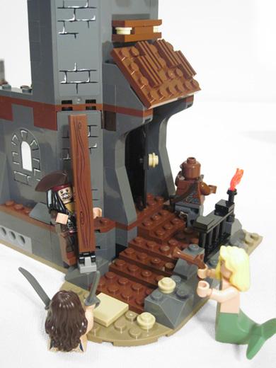Lego Whitecap Bay Lego Mermaid Attacks Lego Jack Sparrow