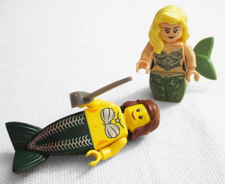 Lego Mermaids Comparison