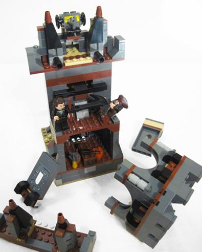 More Lego Whitecap Bay Falling Down