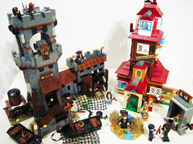 Lego Whitecap Bay and Lego The Burrow