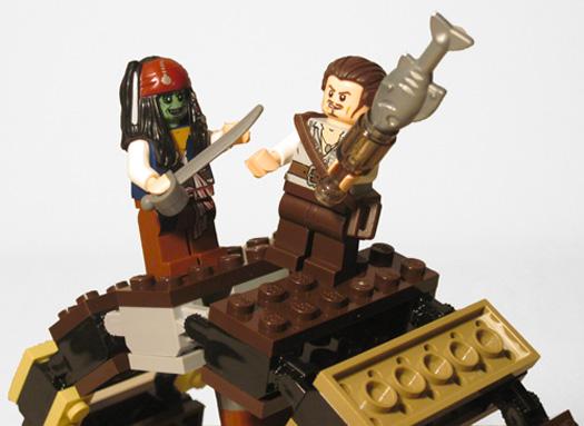 Lego Jack Goes Green!