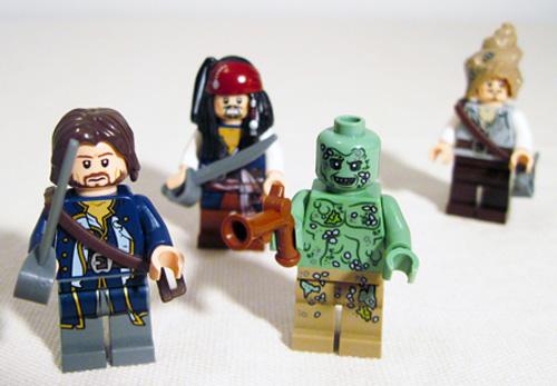 Lego 4183 The Mill Figures- Lego Hadras & Admiral Norrington