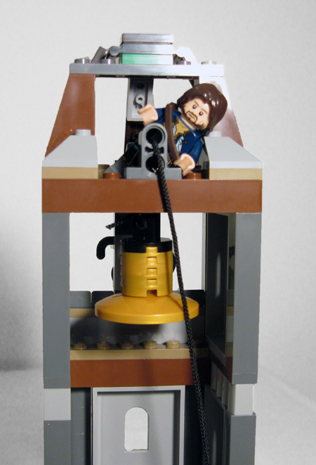 Lego 4183 The Mill Bell Tower
