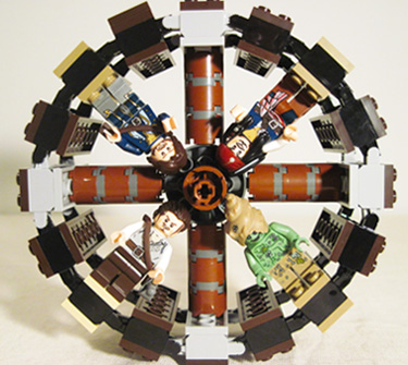 Lego 4183 The Mill Wheel with Minifigures